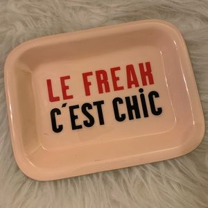 Le Freak Cris Chic Trinket Tray from Anthropologie